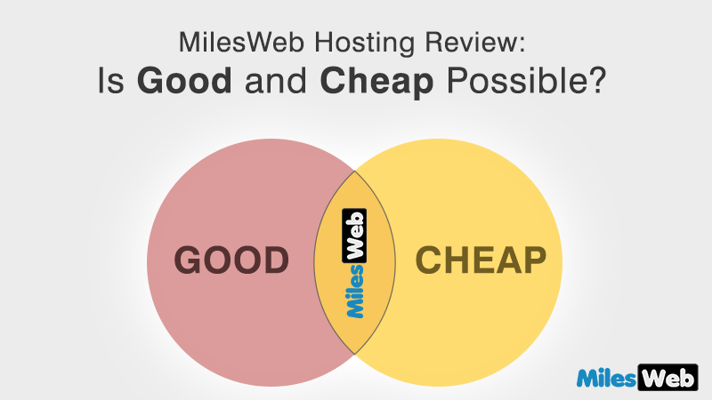 MilesWeb Review: Is Good and Cheap Possible?