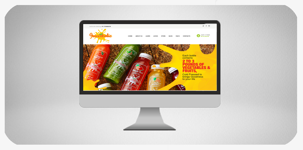 Online Juiceshop Ecommerce Website